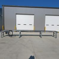 """259"""" Slider Bed Belt Conveyor 18"""" Bed 24 FPM 208-230/460"""