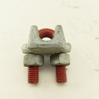 Crosby 9/16 Wire Rope Cable Aircraft Cable Clamp Red Bolt