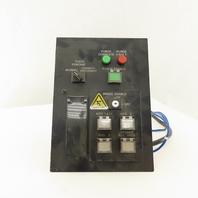Fanuc A05B-2452C020 Operator Control Switch Board Brake Purge Teach