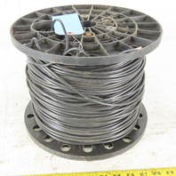 E125352 1200' Moisture Resistant Black Cable Wire 10AWG MTW or THHW or AWM 600V