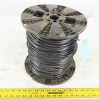 E125352 1000' Moisture Resistant Black Cable Wire 10AWG MTW or THHW or AWM 600V
