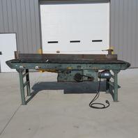 """Hytrol 117"""" Belt Over Roller Center Drive Conveyor 18"""" Bed 31 FPM 208-230/460"""