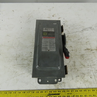 Square D HU361AWK 30A Series F1 Non-Fusible Safety Disconnect Switch 3P 600V