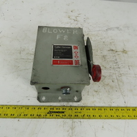Cutler Hammer DH361UDK 30A 3 Pole Non-Fusible Safety Disconnect Switch 600V