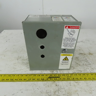 """Electromate Steel Wall Mount Electrical Enclosure 12""""x10""""x6"""" W/Back Plate Type 1"""