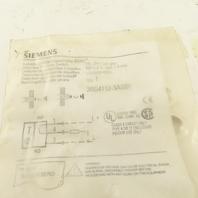 Siemens 3RG4112-3AG01 Inductive Proximity Sensor 15-34VDC