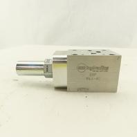 Sun Hydraulics EBP ISO 03 Aluminum Sandwich Manifold W/ Pressure Reducing Valve