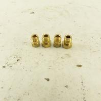 Bijur BB3783 5/32 Tube OD 5/16-24 Male Lubrication Compression Bushing Lot Of 4