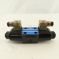 Northman SWH-G02-D2-D24-20 Double Solenoid Operated Directional Valve 24VDC Coil