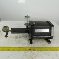 Enerpac AHB17 Air hydraulic Booster 1856 PSI 18.0 in3 Oil Volume per Stroke