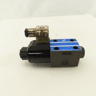 Northman SWH-G02-B2S-D24-20 Solenoid Operated Directional Valve 24VDC Coil