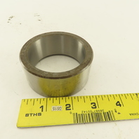 """2-7/16"""" ID Hardened Ball Bearing Smooth Bore Guide Sleeve 3-1/16"""" OD 1-3/8"""" Wide"""