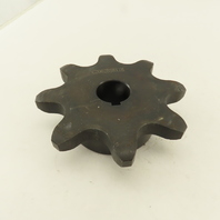 """C2062 BS8X1H Double Pitch Conveyor Chain Sprocket 1"""" Bore 8 Tooth 4-1/2"""" OD"""