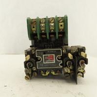 Furnas 14DA32AA11 30A 600V 10Hp Dual Voltage Coil Motor Starter 208-240V