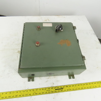 """20"""" x 20"""" x 6"""" Electrical Enclosure Back Plate Fused Disconnect"""