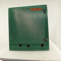 "Allen Bradley 18"" x 16"" x6"" Electrical Enclosure Cabinet Back Plate"