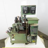 Nachi VDRU-1A-40BHX-199D 1.5kW 13 Gal Hydraulic Power Unit W/Oil Cooler & Valves