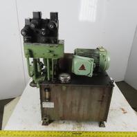 Nachi VDR-1A-1A2-22 1.5kW 10 Gal Hydraulic Power Unit