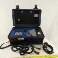 Cole Parmer D904-A1NA-NN 120V0-20 FPS 4-20mA Ultrasonic Flow Meter W/ Sensors