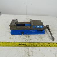 """Kurk D688 Anglock 6"""" Machine Vise 8.750 """" Open x 1.750"""" Depth W/Handle"""