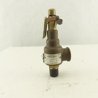 Kunkle 6010DCM01-KM 1/2NPT  110PSI Set Safety Pressure Relief Valve 264 SCFM