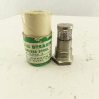 """Johnson 1/2"""" Stainless Steel Tapped Vacuum Breaker"""