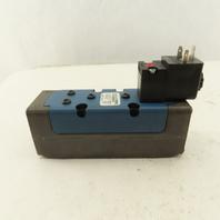 Rexroth GS-020061-02440 Ceram 2 Position Solenoid Pneumatic Valve 120V Coil