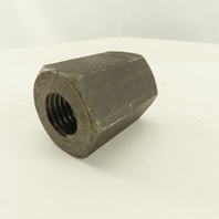 """7/8-8 Threaded Hex Coupling Nut 2"""" Wide"""