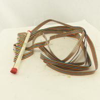 Digi-Key C4PXG-1636M-ND 16 Pin Male Ribbon Cable DIP Terminal 3' Lot Of 8