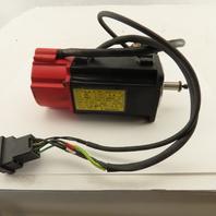 Fanuc A06B-0113-B175 0.2kW 200Hz 3000RPM 2.8A 48VDC Servo Motor