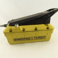 Enerpac PAT1102N 10,000 PSI Air Hydraulic Hand Foot Pump Single Acting