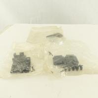 Amp 207908-7 Connector Backshell 25P 90/180° Unshielded Kit Lot Of 3