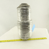 16mm OD Round Braided Glass Fiber Packing Gasket Rope Material 104'