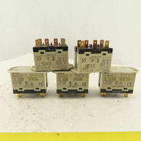 Omron G7L-2A-TUBJ-CB 24VAC 6 Pin Power Relay Module Lot Of 5