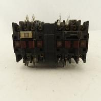 Telemecanique LC2D094JVS004 600V Reversing Contactor 24V Coil