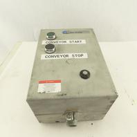 Allen Bradley 509-TAD 600V 2Hp 32A Motor Stater 120V Control Transformer Size 00