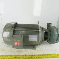 "Deming B087A Type BF 2x1.5"" Centrifugal Pump US Motors 15Hp 3540RPM 208-230/460V"