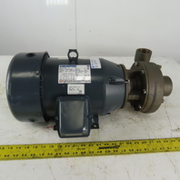 "Price Pump XT150AB Marathon 7-1/2Hp Bronze Centrifugal Pump 2x1.5"" 208-230/460V"
