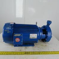 Burks Pumps T3200G9A-1-1/2-AI 20Hp 3525RPM 208-230/460V 2x1-1/2 Centrifugal Pump
