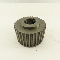 80mm OD 32 Tooth Tapered Bore Spindle Motor Drive Gear Okuma LB-9