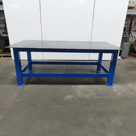 """1/2"""" Thick Top Steel Fabrication Welding Layout Table Work Bench 96""""Lx48""""Wx36""""H"""