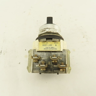 Allen Bradley 800T-J91 3 Position Selector Switch Momentary Contact 600V