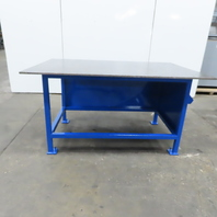 """3/4"""" Thick Top Steel Fabrication Welding Layout Table Work Bench 72""""x48""""x38"""""""
