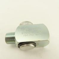 Dynabrade 95746 3/8 Male x 3/8 Female Ported Abrasive Tool Air Flow Regulator