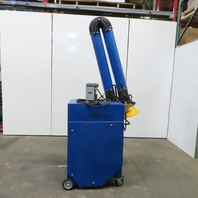 10' Arm Portable Air Cleaner Weld Laser Torch Fume Collector 115V Single Phase  1Ph