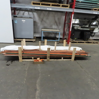 Duct-O-Bar FE-908-2 10' Conductor Bar Assembly Rail System Lot of 59 Indoor Use
