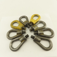 """1/2""""-13 Thread Shouldered Non Swivel Lifting Eye 3-1/2"""" OAL Lot Of 8"""