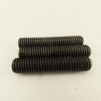 "5/8""-11 x 3"" Socket Set Screw Black Oxide Lot Of 3"