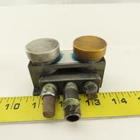 Mead N2-PB 1/4 NPT 2 Way Flow Coefficient 1 Push Button Pneumatic Valve