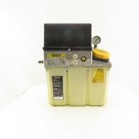 Vogel Mini-1/KHW6 D 220V Motor Driven Lubrication Pump 4.5 Liter Tank